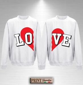 Anniversaire Mariage Saint Valentin Amoureux Cadeau Idée Sweat Couple shirt Love qnw0zwBS