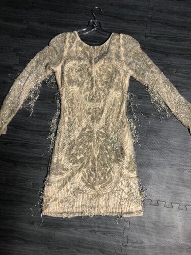 Primavera Fringe Dress