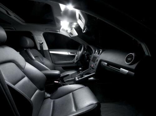 OPEL INSIGNIA Pack 7 Ampoules LED Blanc éclairage intérieur plafonnier Tapis sol