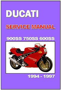 ducati workshop manual 900ss 750ss \u0026 600ss 1994 1995 1996 \u0026 1997image is loading ducati workshop manual 900ss 750ss amp 600ss 1994