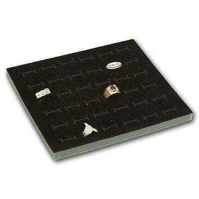 Novel Box 72 Ring Earring Jewelry Tray Foam Velour Liner
