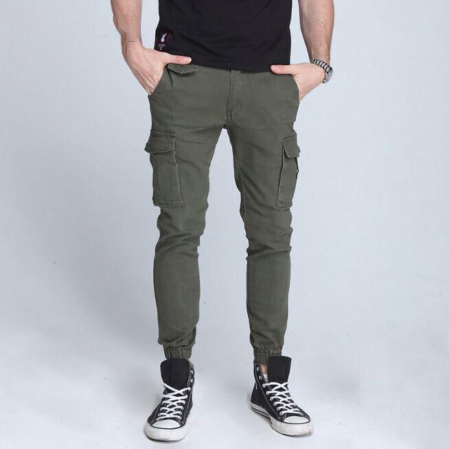 Pantalones casuales para hombre Pantalon de carga de moda Nuevo estilo de ropa