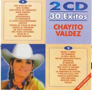 Chayito-Valdez-30-Exitos-2CDS-New-Sealed-Nuevo