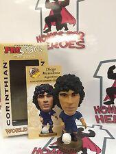 Corinthian Prostars Argentina Deigo Maradona Oro Base SELAED en caja de la ventana
