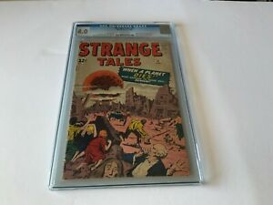 STRANGE TALES 97 CGC 4.0 AUNT MAY UNCLE BEN STVE DITKO MARVEL COMICS 1962