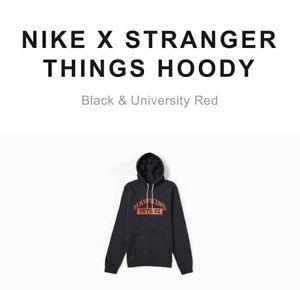 Nike X Stranger Things Hoodie Upside