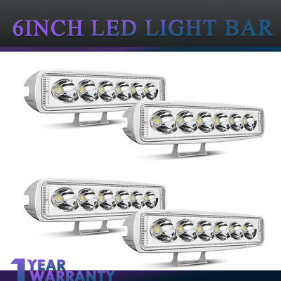 23Inch 144W LED Light Bar 2Row OFFROAD FOR Dodge Hummer SUV 4WD ATV FORD