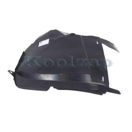 06-10 Explorer Front Splash Shield Inner Fender Liner Left Driver Side FO1248127