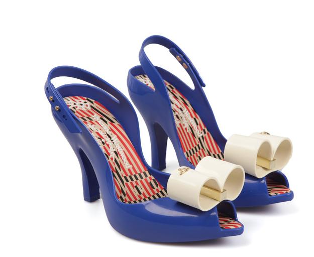 Vivienne Westwood Blau Lady Dragon Bow 17 - Heels - 17 Größe EU40/UK7 9efc80