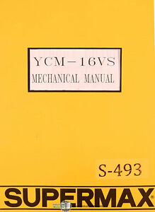 supermax ycm 16vs yeong chin milling operations parts and electric rh ebay com Wiring Diagram Symbols Simple Wiring Diagrams
