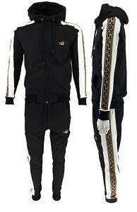 New Mens TIM Designer Urban Premium Full Tracksuit Zip Up Hoodie Joggers Sets