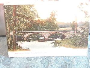 1905-10 New Canaan Bridge Norwalk River Connecticut Conn Post Card