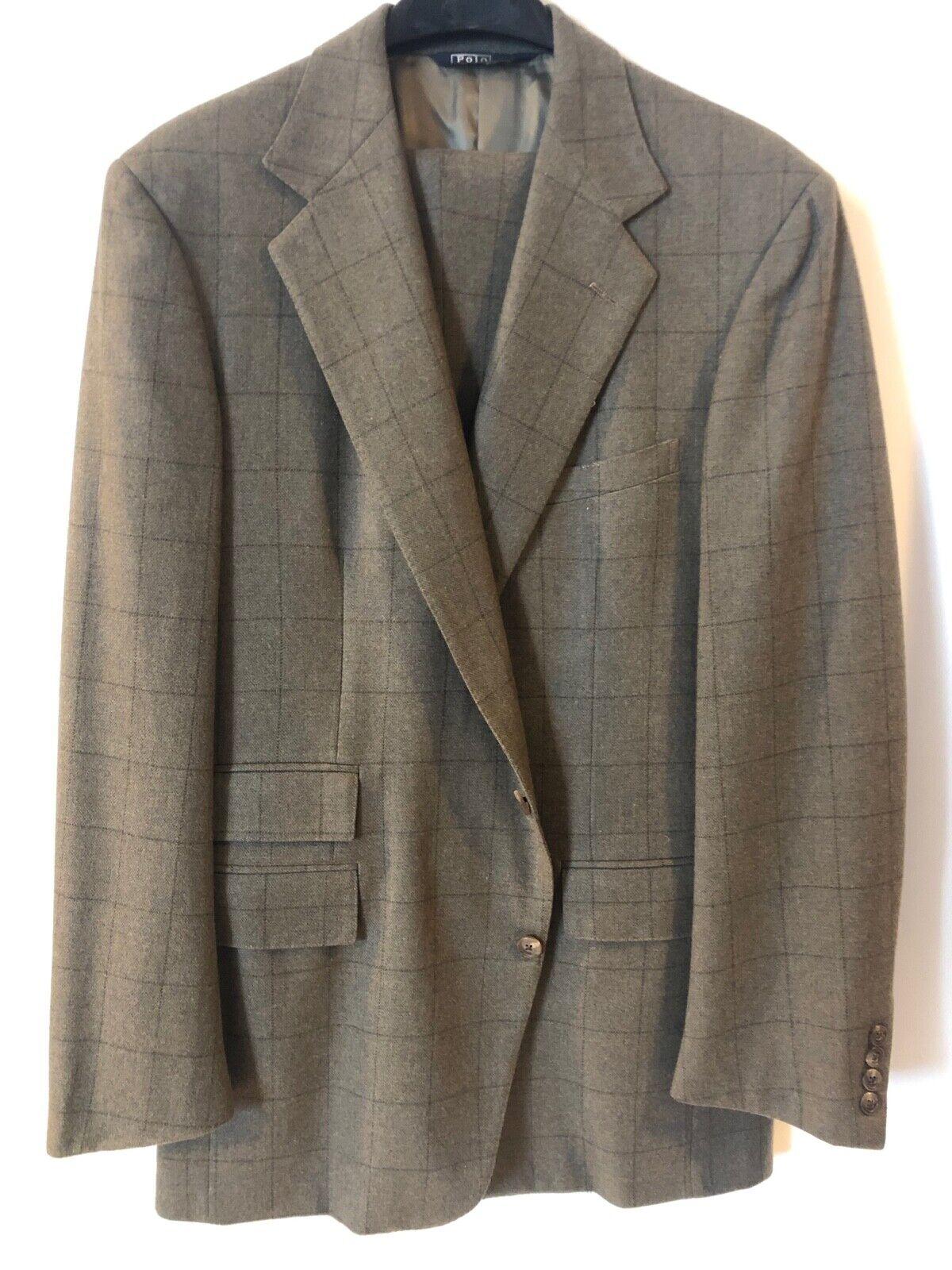 Vintage Ralph Lauren Wool Suit