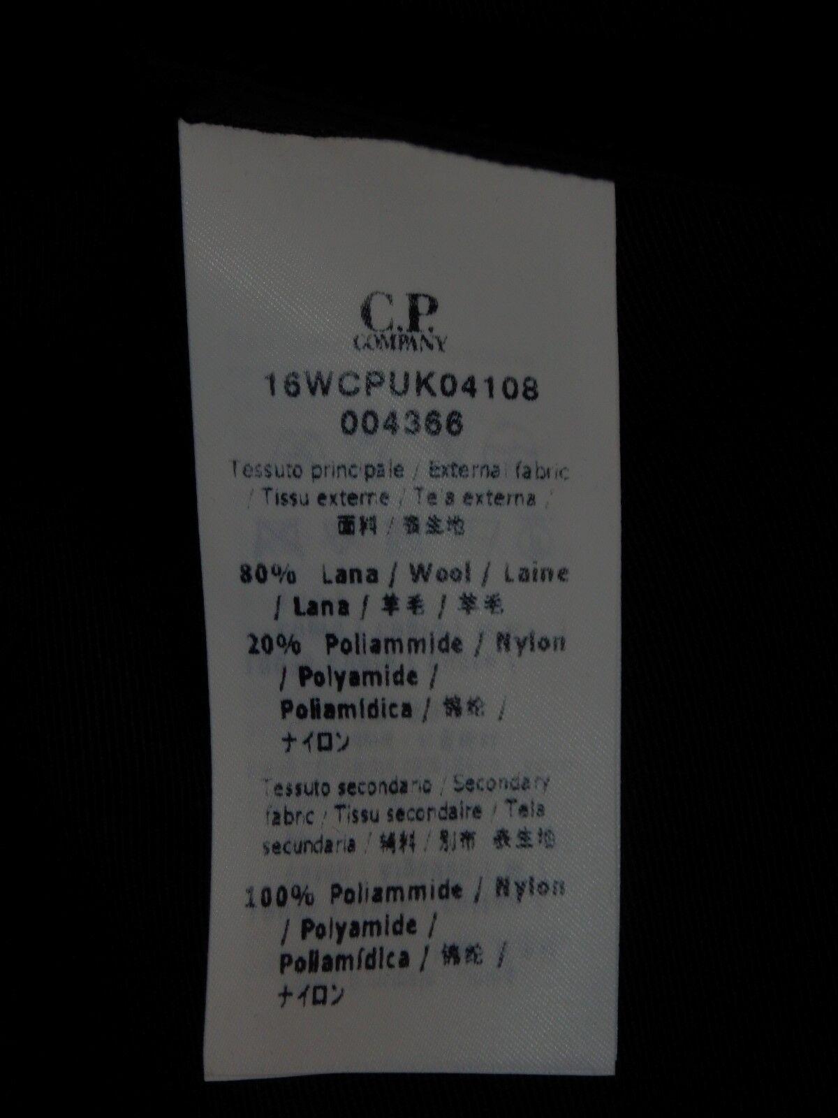 CP COMPANY - - - MANTEAU - LAINE - t. 52 - LAINE - NEUF - GENUINE 1a5df2
