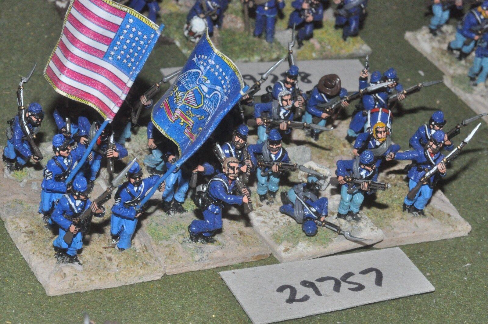 25mm Regimiento de Unión ACW 24 figuras-INF (29757)