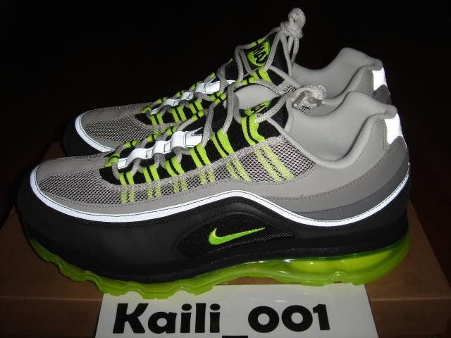 Nike Air Max 24-7 Sz 12 Neon 397252-002 B