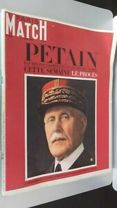 Revista-Paris-Match-N-896-Junio-1966-Petain-Horas-Glorieuses-amp-noires-el-Ensayo