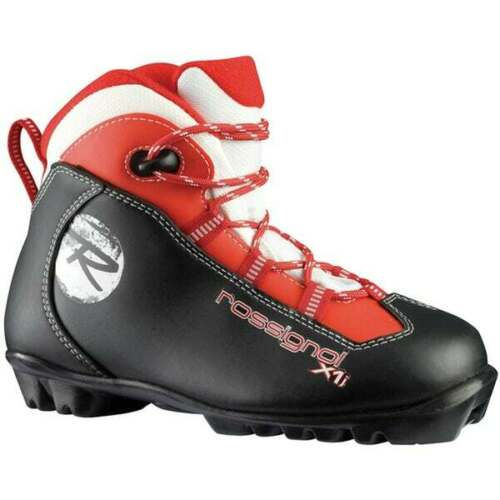 ROSSIGNOL KIDS *NEW* X1 Junior Cross-country ski boots SZ:32.0 NNN  X country