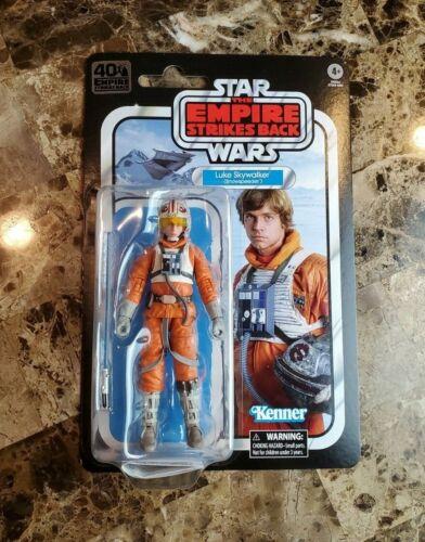 """Luke Skywalker Snowspeeder 6/"""" The Black Series STAR WARS MOC 40th Anniversary"""