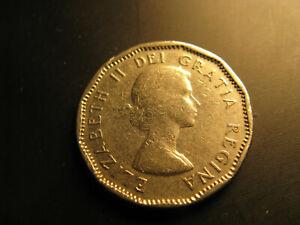 Canada 1959 Nickel 5 Cent Coin Ebay