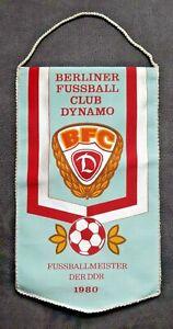 RAR-Orig-Wimpel-BFC-Dynamo-Berlin-DDR-Oberliga-Meister-1980-DFV-Regionalliga