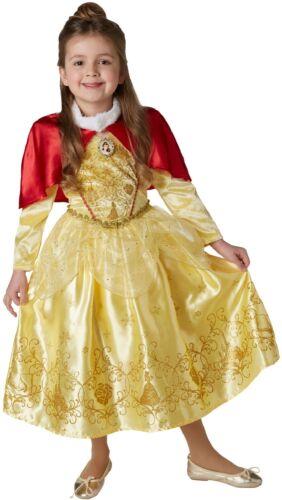 Ragazze Disney Inverno Belle Bellezza BESTIA Giornata Mondiale del Libro Costume Outfit