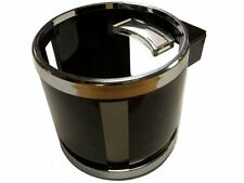 Chrome Clip on Cup Holder for Car / Van Air Vent. Holds Water Bottle, Can, Drink