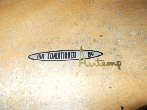 AIRTEMP AIR CONDITIONING INSIDE WINDOW DECAL 1955-1965 CHRYSLER ALL MODELS