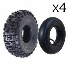 4.10-6 4.10//3.50-6 Snow Blower Thrower Tire with Rim Wheel Assembly