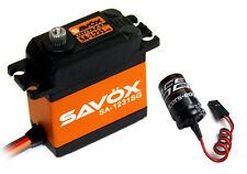 Savox SA-1231SG High Torque Coreless Steel Gear Digital Servo w/ Free Capacitor