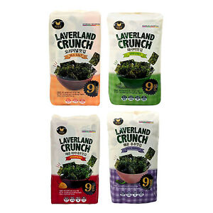 Korean-Gourmet-LAVERLAND-CRUNCH-Roasted-Seaweed-Seasoned-Sliced-Laver