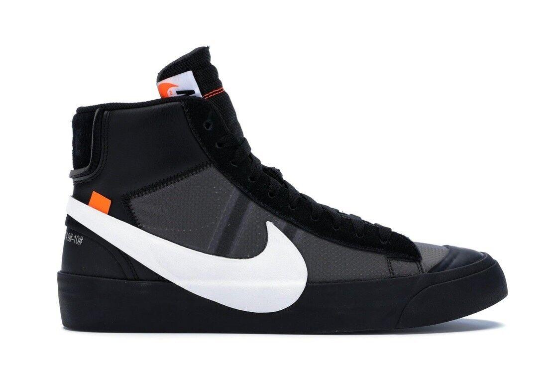 Off-White x Nike Blazer Mid  Grim Reaper  Sz. 13