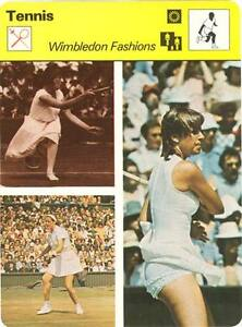 CHRIS-EVERT-1979-Sportscaster-Card-86-03-HIGH-Wimbledon-Fashions