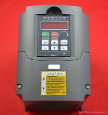 110V VARIABLE FREQUENCY DRIVE INVERTER VFD 1.5KW UPDATED 5