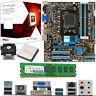 AMD X4 Core FX-4300 3.8Ghz & ASUS M5A78L-M USB3 & 4GB DDR3 1600
