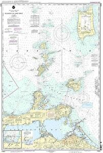 NOAA Chart Islands in Lake Erie;Put-In-Ba<wbr/>y 32nd Edition 14844