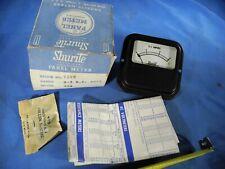Vintage Shurite Panel Meter 9202 0 3 Dc Amperes With Manual Amp Box Nos