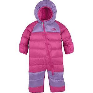 b9e4cd30e New Baby Girls THE NORTH FACE Winter Down Coat Snowsuit Pram Bag ...