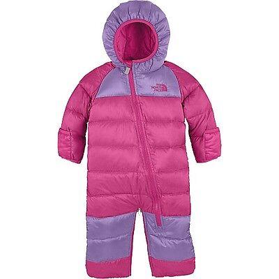 New $150 Baby Girls THE NORTH FACE Winter Down Coat Snowsuit Pram Bag Bunting