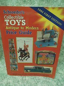 Rm 340 Collectibles Bk Schroeder S Collectible Toys Antique To Modern 9780891456216 Ebay