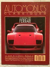 AUTOMOBILES CLASSIQUES n 21 1987 - Ferrari F-40 et Super America Super Seven