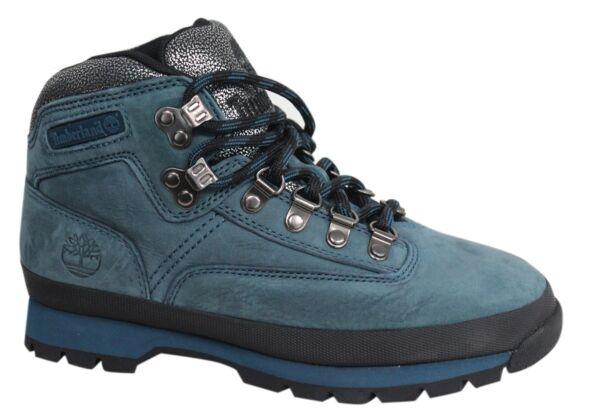 Timberland Earthkeepers Ek Con Cordones De Cuero Hombre Azul Botas Para Excursionista Euro A18ls T4a-ver