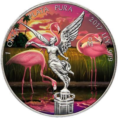 Mexico 2017 1Onza Libertad Jeans 1Oz Silver Coin
