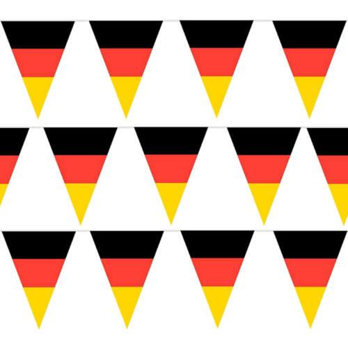 Fanion Guirlande 5 Mètre Allemagne 8 Drapeaux ca.30cm Hauteur Championnat Du