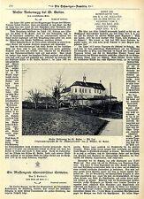Kloster Notkersegg bei St.Gallen Historische Aufnahme von 1908