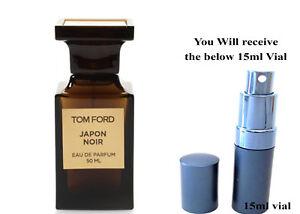 Men Perfume Parfum Tom Ford Japon Noir 15ml Thaismile Pocket Spray