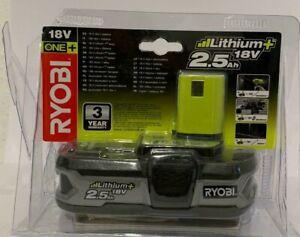 Ryobi-5133002237-RB18L25-Pila-18-V-2-5-Ah-Litio-Negro-Verde