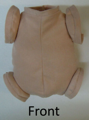 """Doe Suede Body for 16-17/"""" Dolls Full Jointed Arms Full Jointed Legs #1274"""