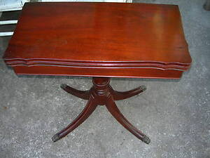 Amazing Image Is Loading Antique Vintage Imperial End Coffee Lamp Game Table