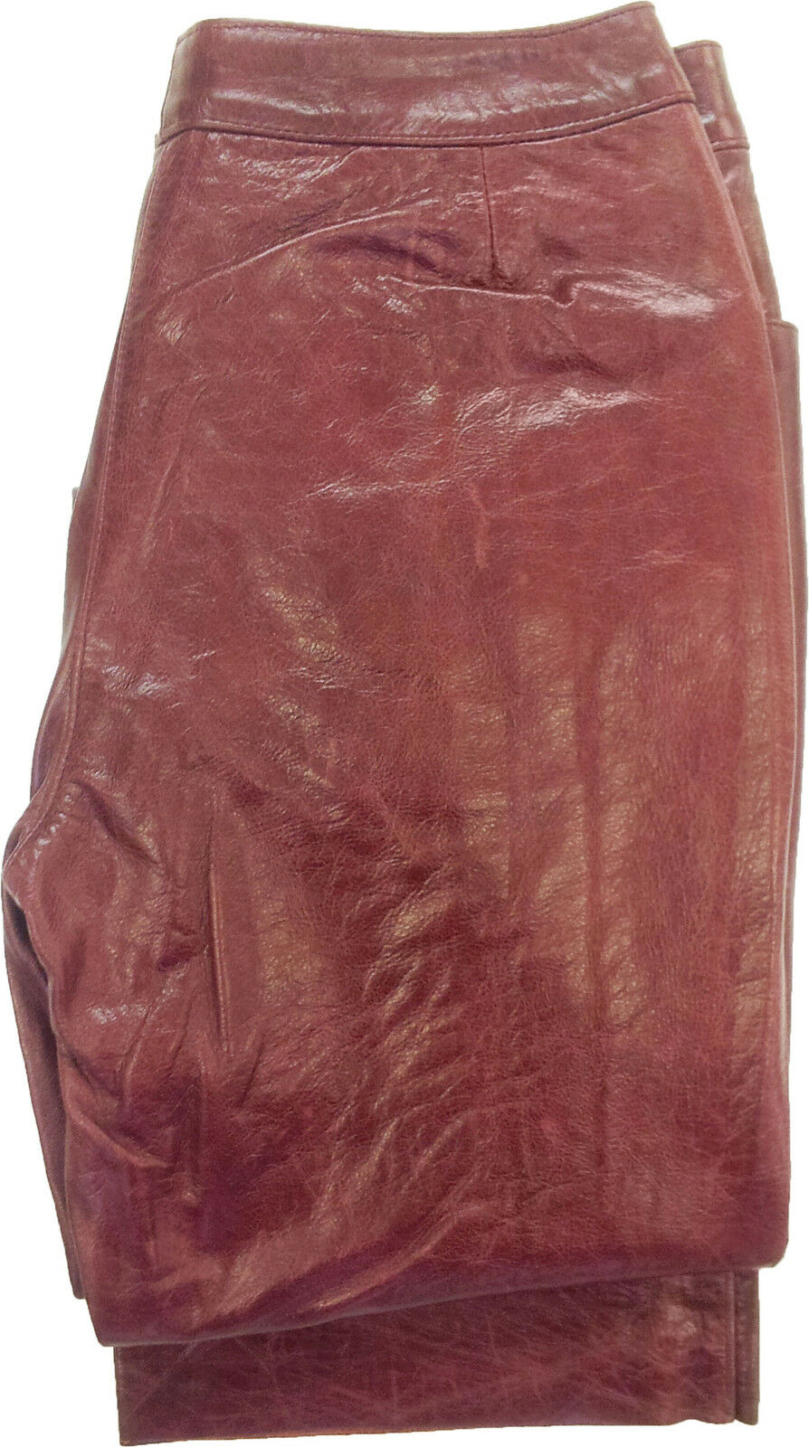 UNICORN LONDON Womens Cherry Leather Trousers Jeans T